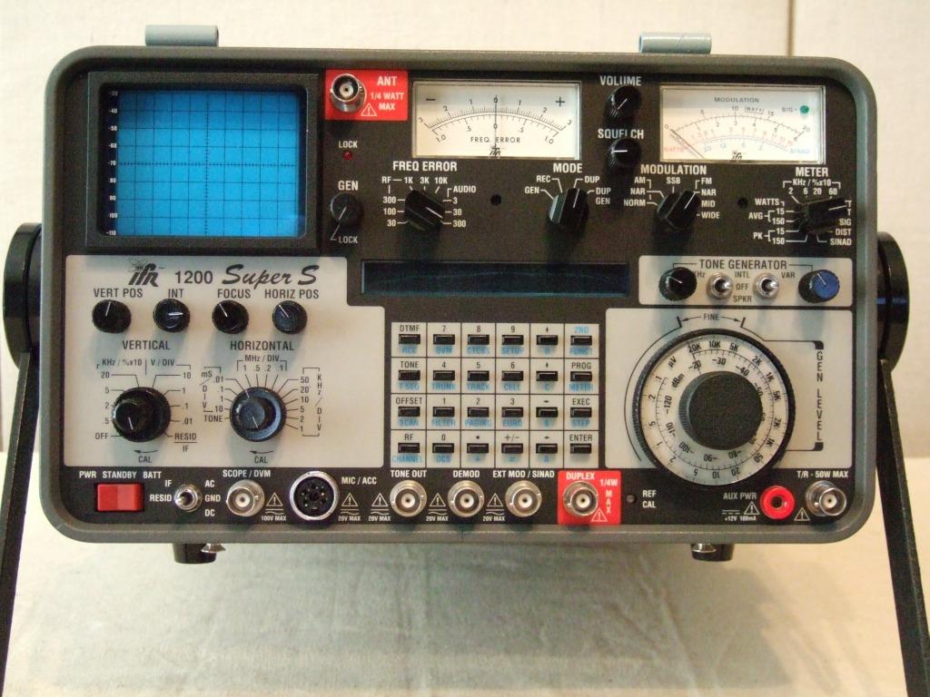 ifr 1200 super s rh bytecollector com IFR 1200s Service Monitor IFR Service Monitor Craigslist