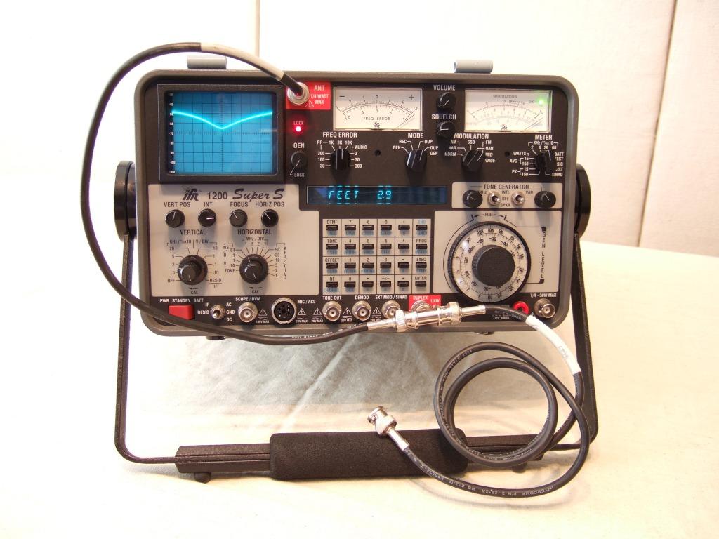 ifr 1200 super s rh bytecollector com IFR Service Monitor Craigslist IFR 1200s Service Monitor